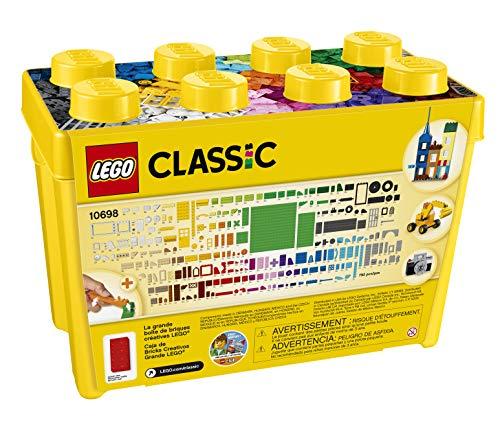 Grande Boîte de Briques Créatives LEGO 10698 Classic 790 Pièces - 4