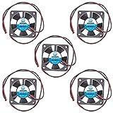 WINSINN Ventilador de 35 mm, 12 V, rodamiento hidráulico sin escobillas 3510, 35 x 10 mm, alta velocidad (paquete de 5 unidades)