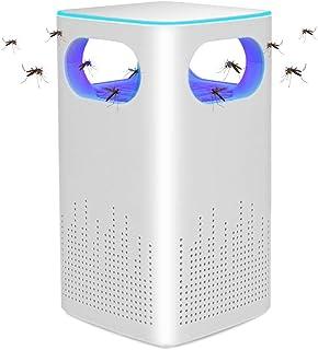 蚊取り器 捕虫器 UV光源誘引式 妊婦/子供に向け 無毒・放射線なし 360°強力吸引 強い風が蚊を吸い込む 近紫外線 超静音 蚊ランプ 省エネ モスキートキラー 寝室 居間 台所 持ち運び便利