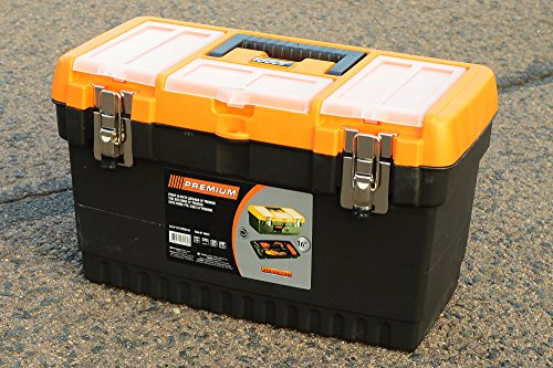 16' JUMBO Werkzeugkoffer Leer Werkzeugkasten Werkzeugkiste Werkzeug Box B/L/H - 21CM/41CM/23CM