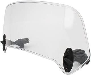 Dinapy Universal Motorrad Windschild Clip-On Windschild Windschutzscheibe Verl/änger Erweiterung Spoiler-Aufsatz Verstellbare Windschutzscheiben Zubeh/ör Durchsichtig//Grau