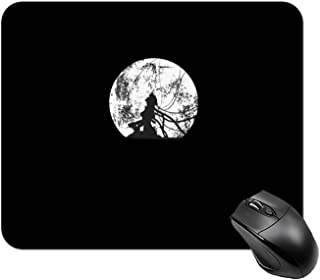 NANAGOTEN 攻殻機動隊 Ghost in The Shell マウスパッド デスクマット キーボードパッド ゴム底 滑り止め 耐久性 良い おしゃれ かわいい 防水 サイバーカフェ オフィス最適 適度な表面摩擦 20x25cm
