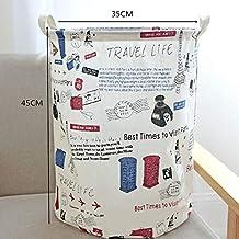 The New Storage Basket, Waterproof Storage Basket, Toy Laundry Basket Large Storage Basket for Large Capacity Baby Dirty C...