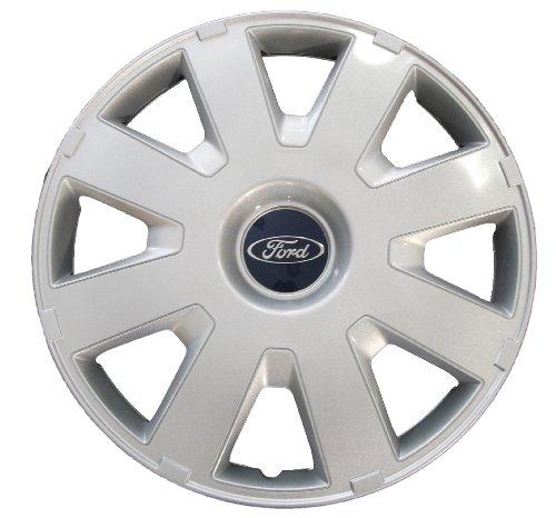 Ford Genuine Parts - Tapacubos Focus MK2+3 C-MAX/Mondeo (1 Unidad, 16'), Color Plateado