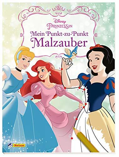 Disney Prinzessin: Punkt-zu-Punkt Malzauber