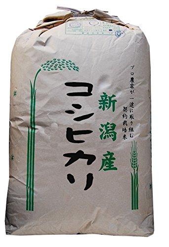 新潟県産 Sソート玄米 農薬残留分析済 新潟産 コシヒカリ 特注栽培 令和元年産 (1kg)