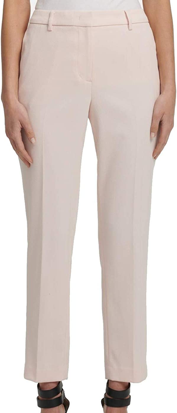 DKNY Womens Pink Wear to Work Pants Size 14