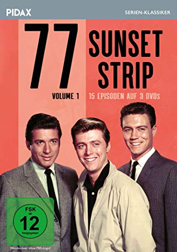 77 Sunset Strip, Vol. 1 / 15 Folgen der legendären Krimiserie (Pidax Serien-Klassiker) [3 DVDs]
