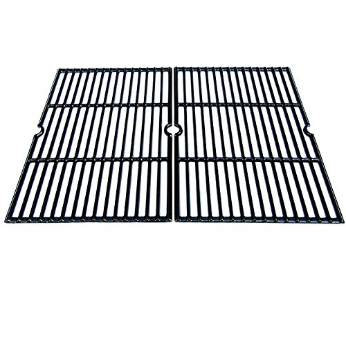 Direct Store Parts DC116 Polished Porcelain Coated Cast Iron Cooking Grid Replacement for Charbroil, Coleman, Thermos, Master Forge, Uniflame Gas Grills