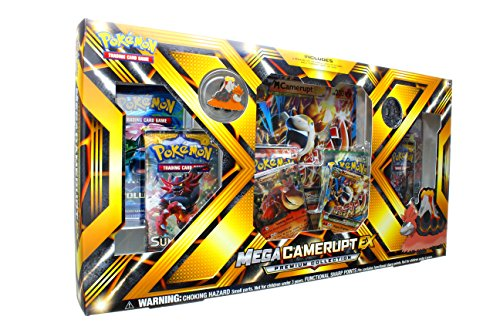 Pokemon TCG: Mega Camerupt EX Premium Collection Box