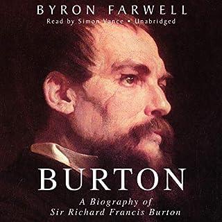 Burton audiobook cover art