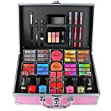 Makeup Beauty Vanity Coffret maquillage mallette en aluminium Organizer Eyeshadow Delights Love Urban Beauty Teenage