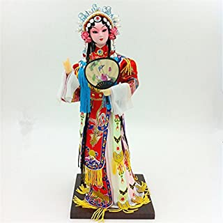 NW Chinese Traditional Handicraft Silk Figurine Collectible Chinese Doll Silk Doll (1801)