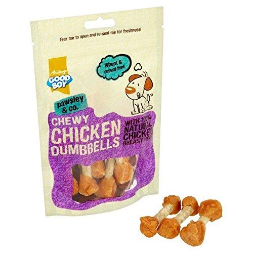 Bon Niño - Mancuernas de pollo de goma (100 g, 6 unidades)