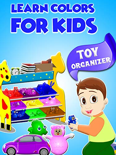 Learn Colors For Kids - Toy Organizer