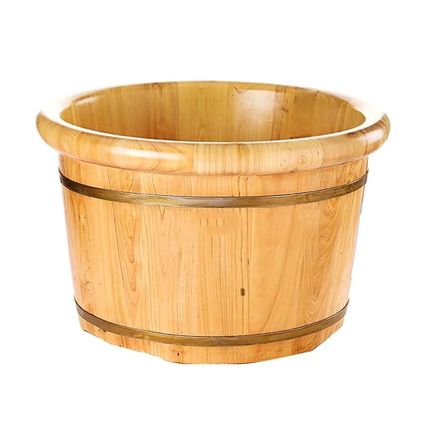 雑品パット社交的木製サウナバケツ,防水 防漏足浴桶,使用簡単 おしゃれ サウナバケッ,ト滑らかい 繊細 手作り