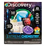 Discovery Extreme Chemistry Stem Science Kit by Horizon Group Usa, 40 Fun Experiments, Make Your Own Crystals, DIY Glowing Slime, Fizzy Eruptions, Gooey Worms & More, Multicolor
