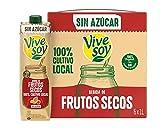 Vivesoy Frutos Secos sin Azúcar (pack de 6 x 1L)