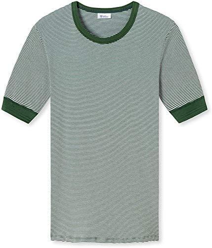 Schiesser Revival - Shirt Kurzarm grün - Revival Karl-Heinz (XL)