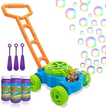 Lydaz Kids Bubble Blower Machine Lawn Games