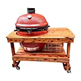 JJGeorge Table for Big Joe Kamado Joe II or III - Free Grill and Table...