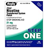 Rugby Nicotine Transdermal System Step 1 (21mg) - 14 Patches by watson Rugby Laboratories (cs)