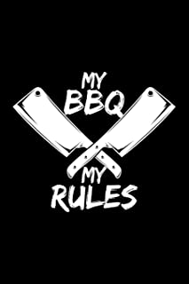 My Bbq My Rules: Blank Paper Sketch Book - Artist Sketch Pad Journal for Sketching, Doodling, Drawing, Painting or Writing