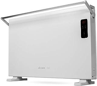 Calentador Peaceip Radiador eléctrico del hogar, rápido, Cuarto de baño Disponible, Panel de Control LCD, Bajo Consumo de energía, Impermeable