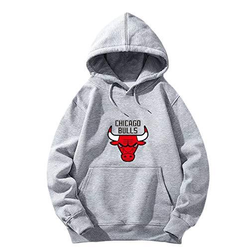 Chicago Bulls Basketball Männer und Frauen Training Jogging Langarm Hoodie