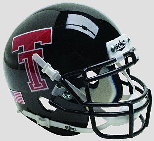 Schutt NCAA Texas Tech Red Raiders Mini Authentic XP Fußballhelm, Unisex, NCAA Texas Tech Red Raiders Mini Authentic XP Football Helmet, Alt. 15, Mini
