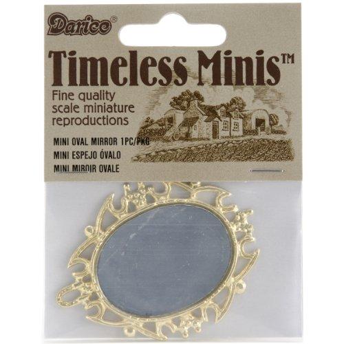Darice Intemporelle Miniatures-Ovale Miroir