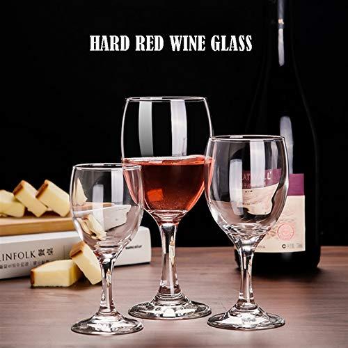 AHAI YU Cristal Premium - Cata de vinos Conjunto de 6 Copas de Vino Tinto, Copa de Vino Tinto de Cristal Transparente sin Plomo, Indestructible, Adecuado para Fiestas y hogar Hombres o mu