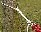 XXL Befestigung für Hängematte an Bäumen | Seilbefestigungsset 6 Meter | Belastbarkeit max. 160 KG | Komplettset - 3