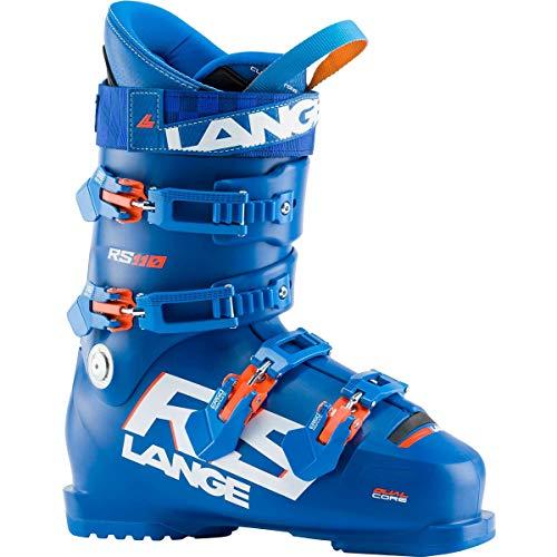 Lange RS 110 Skischuhe, Erwachsene, Unisex, Power Blue, 26.5 Mondopoint (cm)