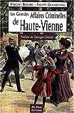 Haute-Vienne Grandes Affaires Criminelle