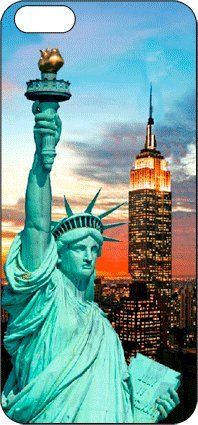 3D Mobile Arts ART00041ML Statue of Liberty Set inkl. Skin mit Bumper-Schutz für Apple iPhone 5
