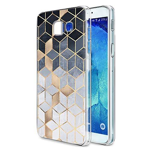 Pnakqil Funda Samsung Galaxy A3 2017 Transparente Silicona Carcasa Ultrafina Suave Gel TPU Piel Antigolpes Protectora Bumper Case Cover Compatible con Teléfono Samsung GalaxyA3, Square