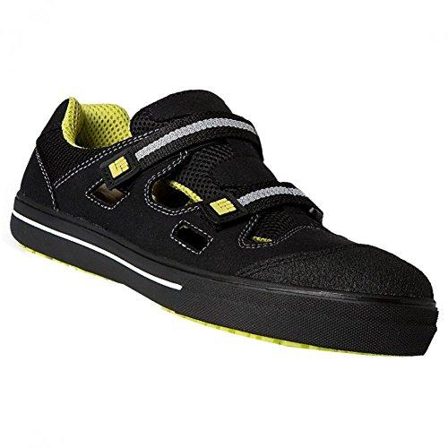 Sicherheitsschuhe Sandale MOOSE S1P Arbeitsschuhe 2work4 2w4 , Schuhgröße:42