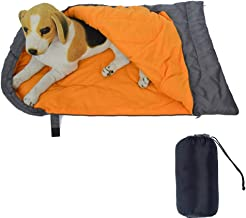 Alchilalart Dog Sleeping Bag, Large Portable Dog Bed with Storage Bag, Waterproof Warm Portable Dog Bed for Camping Hiking...