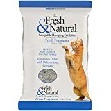 Fresh &自然Scoopable Clay Cat Litter、新鮮な香り 40-Pound fns-40