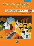 American Folk Songs for Solo Singers: Medium High Voice (Book & CD)