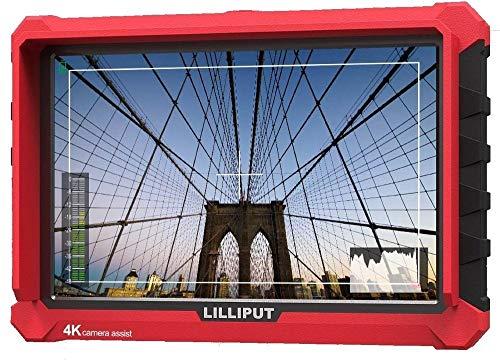 Lilliput A7S 7 pollici 1920x1200 IPS Screen Camera Field Monitor 4K HDMI Input output Video For DSLR Mirrorless Camera SONY A7S II A6500 Panasonic GH5 Canon 5D Mark IV DJI Ronin M