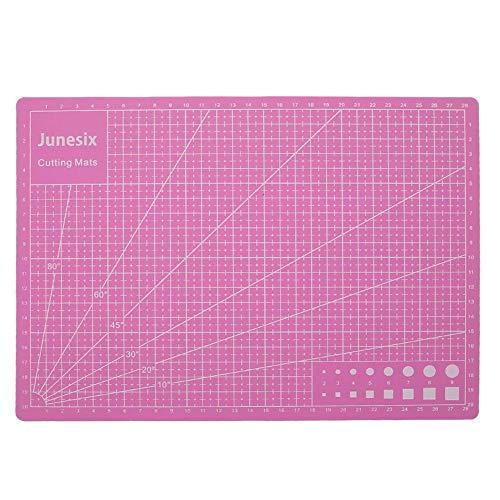 Starnearby - Esterilla de corte (A4, 30 x 22 cm, base de PVC reciclada, superficie autoreparable, tabla de cortar antideslizante con rejilla para manualidades, acolchado, costura, scrapbooking