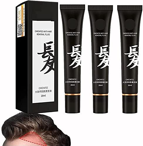 Suero para el crecimiento del cabello con masaje a base de hierbas, para engrosamiento y crecimiento del cabello, tratamiento para la caída del cabello que fortalece las raíces del cabello 60ml