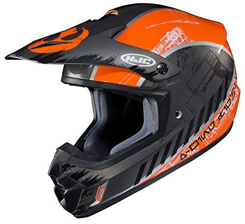 HJC Helmets Unisex-Adult Off-Road-Helmet-Style CS-MX II Star Wars Rebel X-Wing (Black/Orange, Large)