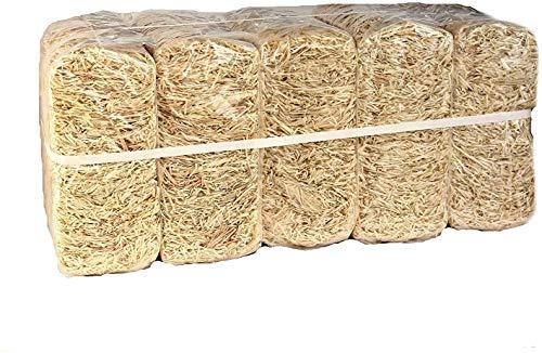 10kg Standard Holzwolle Öko Qualität PEFC Zertifiziert * sehr hell Dekomaterial Füllmaterial aus Deutschem Wald !