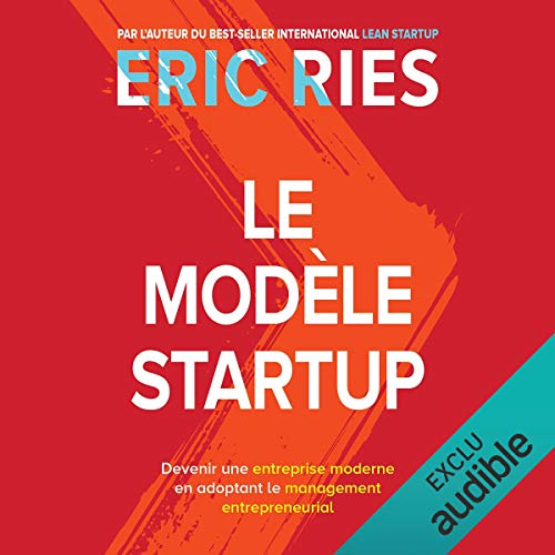 Le modèle startup audiobook cover art