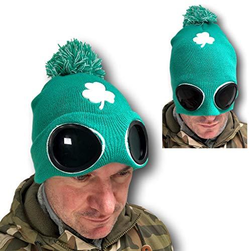 Rubber Johnnies TM Saint Patrick Jour Vert Chapeau Haut-de-Forme Leprechaun Irlandais Déguisement