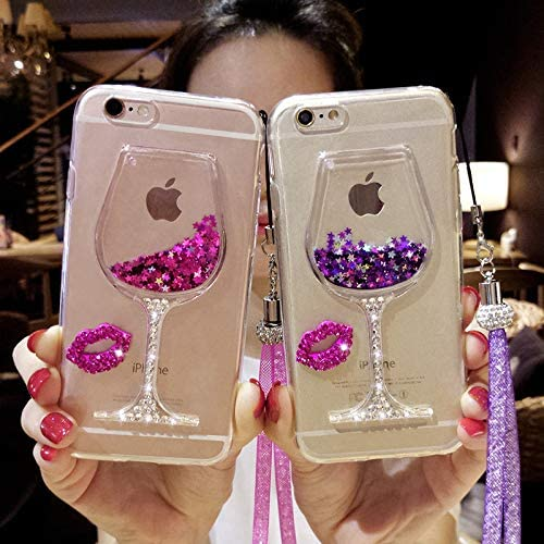 Ruiyi Tech Dream Sequins Quicksand Liquid Samsung S6 Mobile Phone case note3 Silica Gel Protective product image