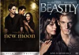 You Thought Just Being A Teen Was Hard? Try Being A Literal Teen Monster: The Twilight Saga- New Moon (single disc edition) & Beastly 2 DVD Pack